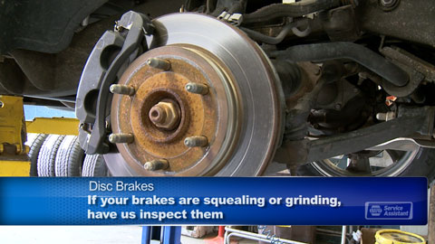 B & L Automotive in Newport News brake inspection
