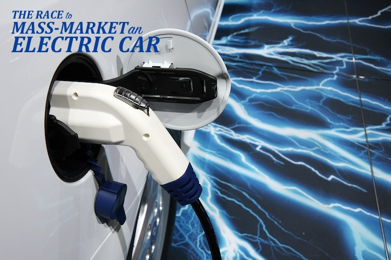 The Race to Mass-Market an All-Electric Car
