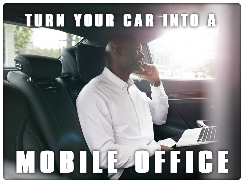 Turn Your Car Into a Mobile Office