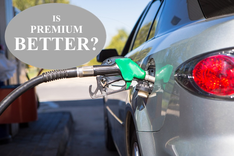 is premium gas better? Falconer