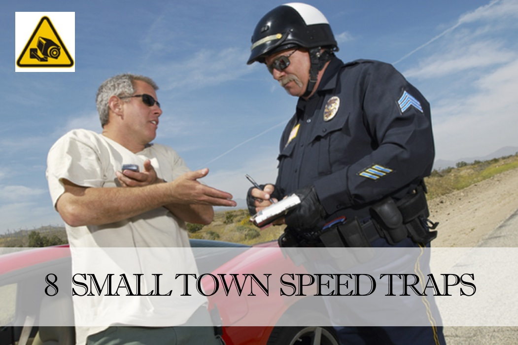 Slow Down! Watch Out For These 8 Small Town Speed Traps
