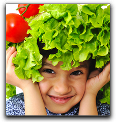 Green Veggies Boost Immunity For Downtown Kids