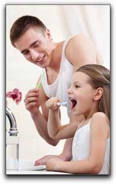 child friendly dentist Moore