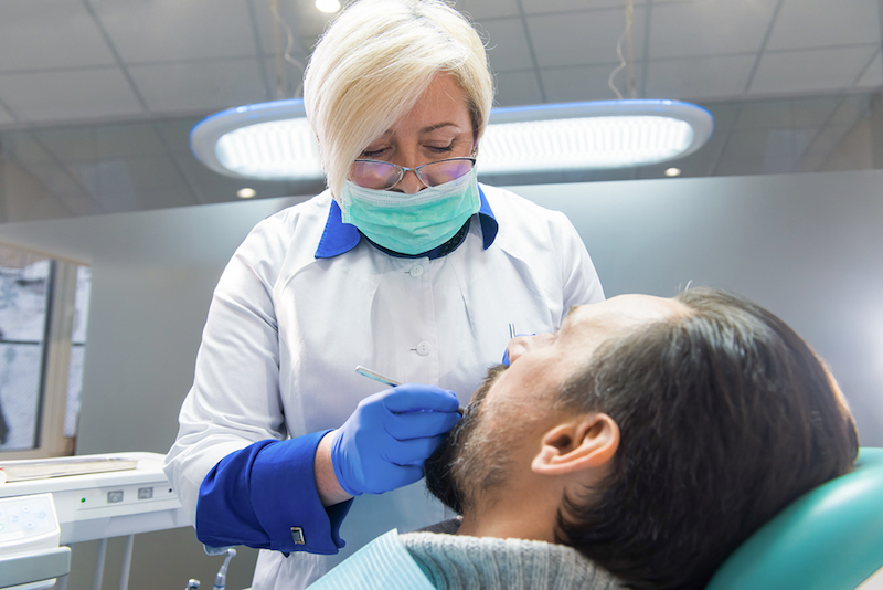 oral cancer screening Plano