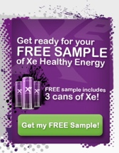 order a free sample of Xe Energy Drink