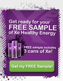order a free sample of Xe Drink