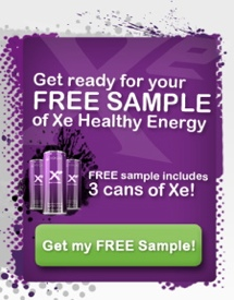 order a free sample of Xocai Energy Drink Xe
