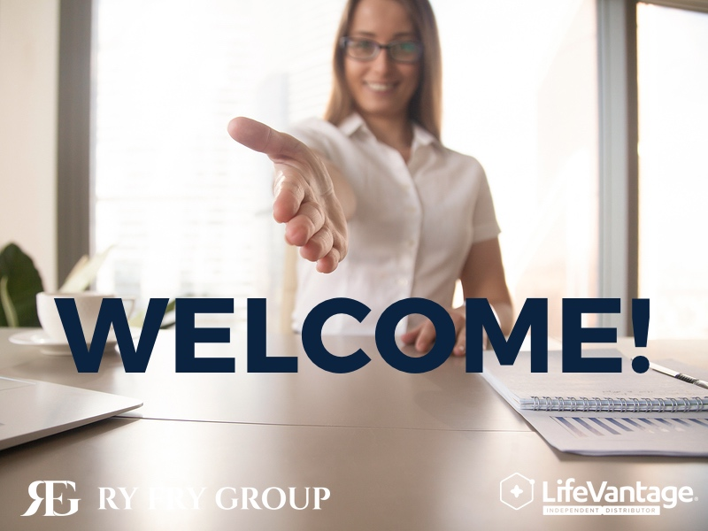 Welcome to LifeVantage RyFry Group Join Today