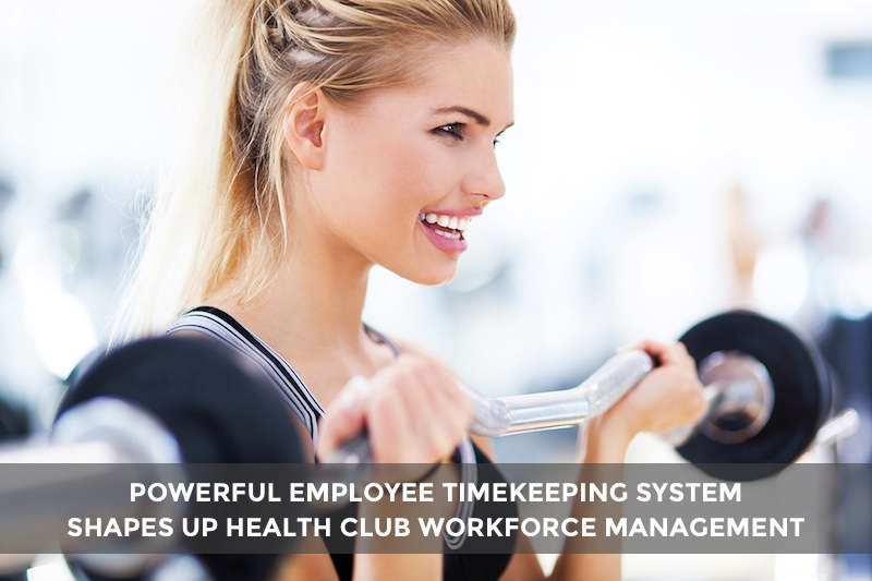 health club employee timekeeping app Novato