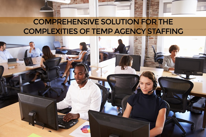 temp staffing contractor scheduling system Novato