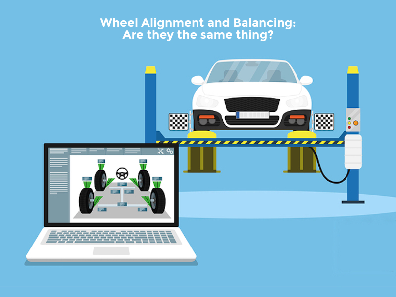 is wheel alignment and balancing the same thing? Falconer