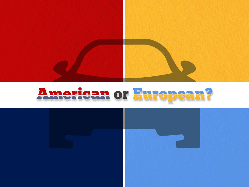 American vs European cars Falconer