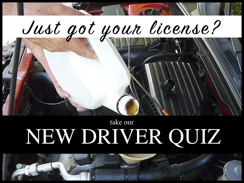 Fun Quiz For New Drivers