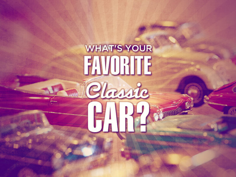 favorite classic car Jamestown