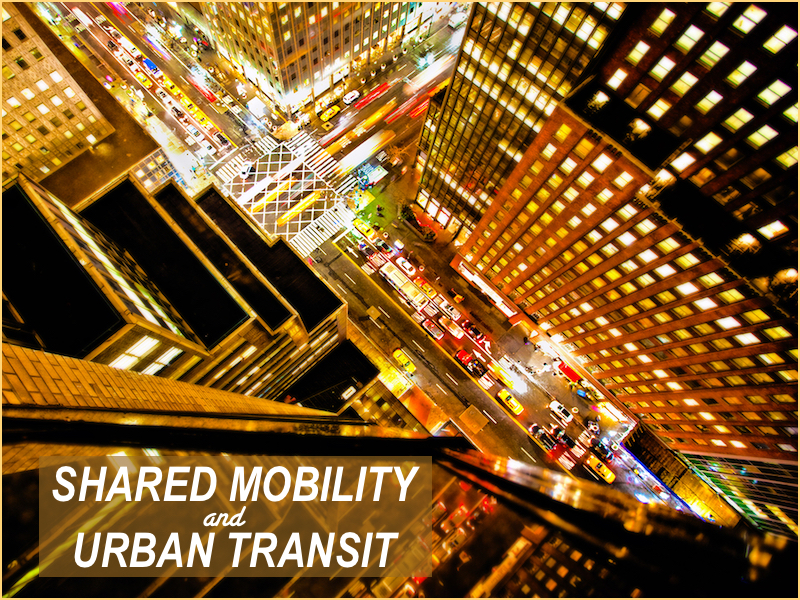Shared Mobility And Urban Transit