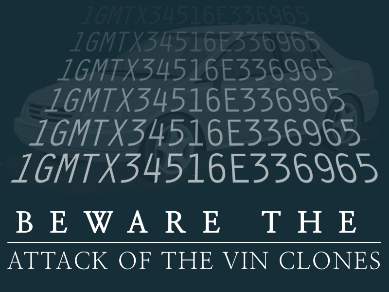 VIN cloning Falconer