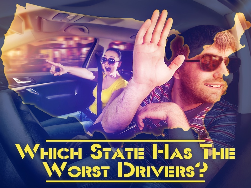 which state has the worst drivers New York