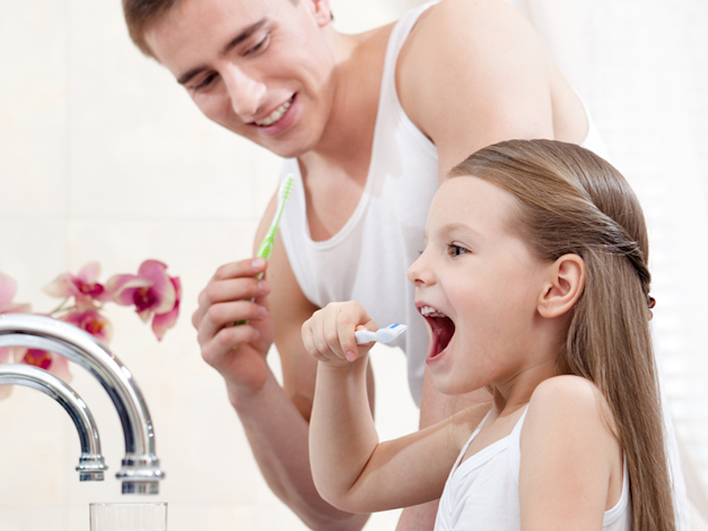 should kids use oral rinses? Campbell