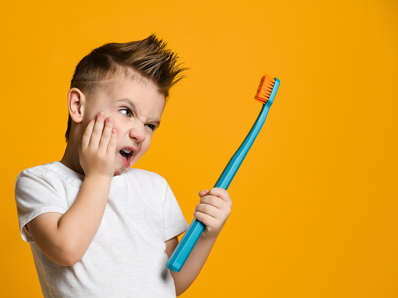 tips to get your child to brush their teeth Arlington