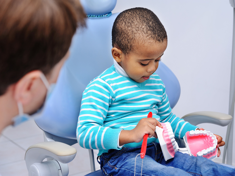 does my child need a pediatric dentist Burlington