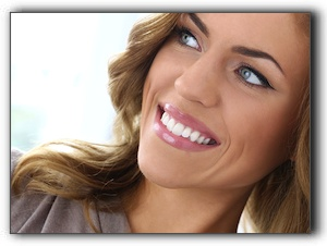 Orange dentist teeth whitening