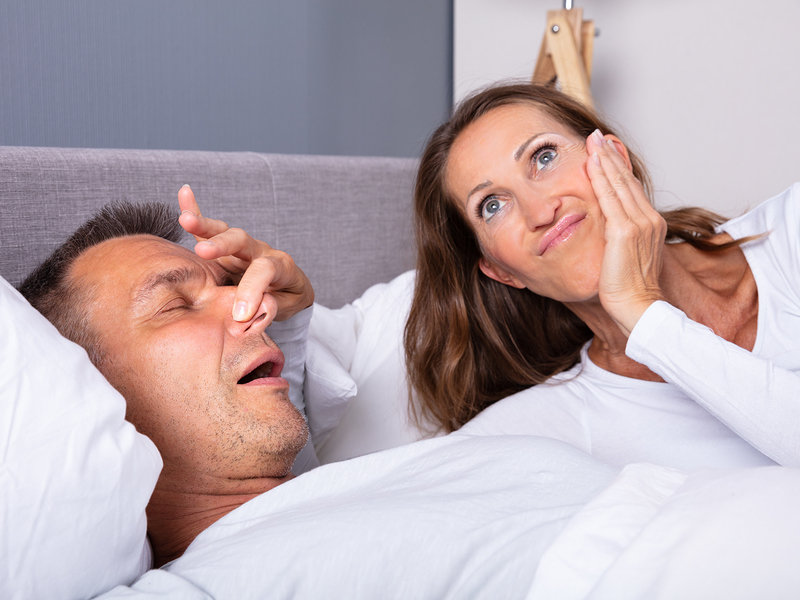 snoring dental treatment Friendswood