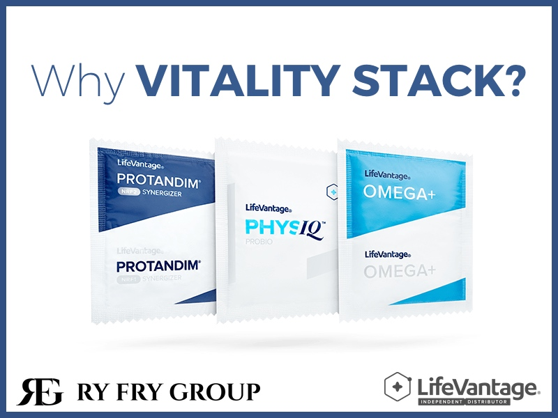 Why Vitality Stack from LifeVantage and Ry Fry Group?