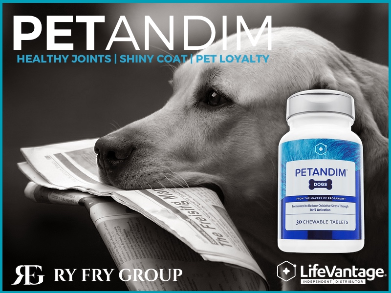 LifeVantage RyFry Group Petandim for your pet