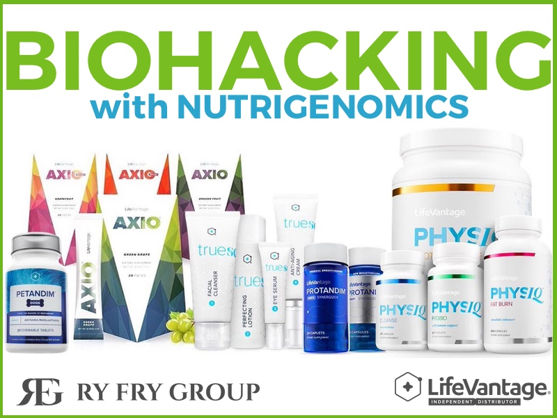 LifeVantage RyFry Group Nutrigenomics Biohacking Product Line