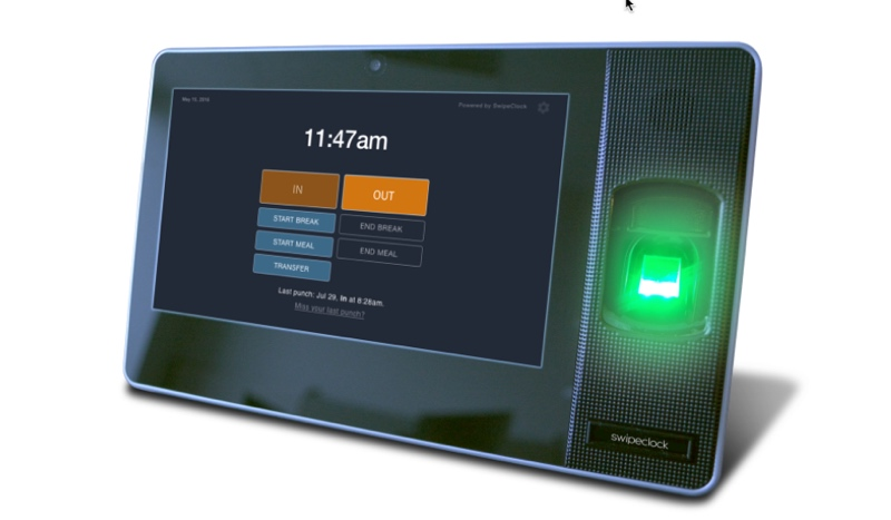 affordable biometric time clock Islandia